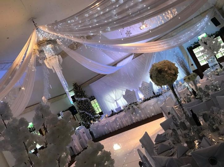 Winter wedding in the Taylor Suite