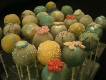 Compressed cake pops