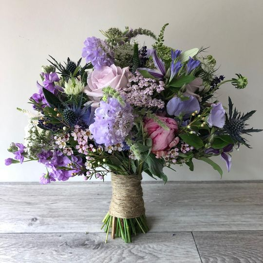 Soft Lavender and Pink shades