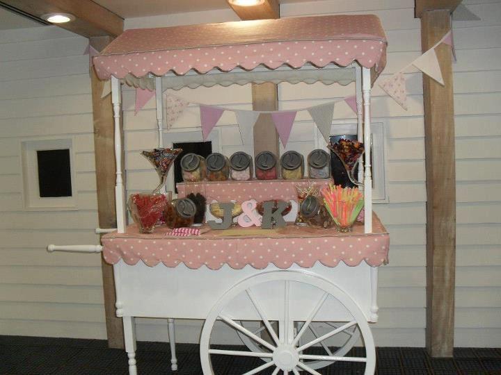 Large Sweet Cart 'Dolly'