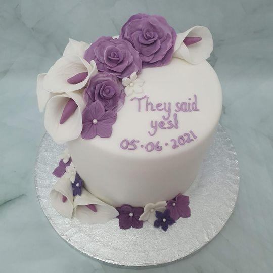 Lavender flowers for a pop of colour