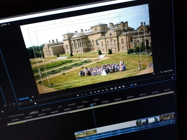 Holkham Hall wedding editing