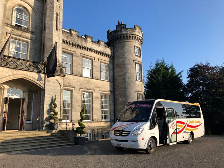 33-seater at Airth Castle