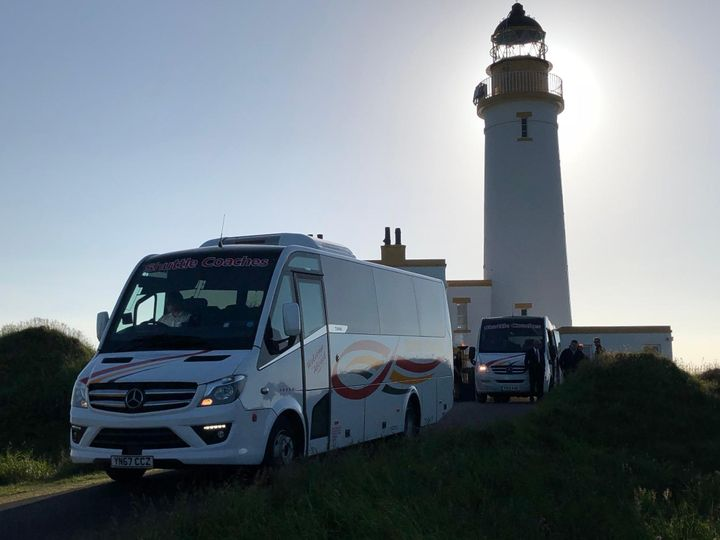 33-seater at Turnberry