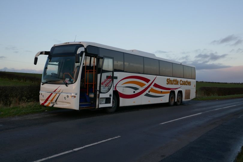 70-seater coach