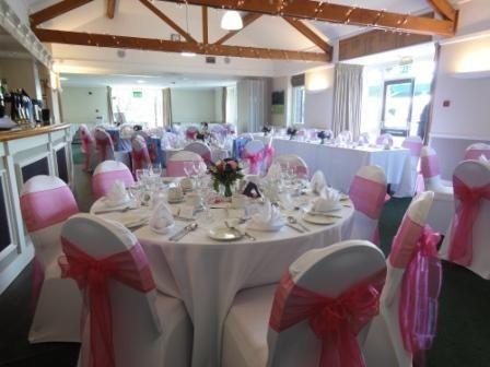 Fuscia Pink Wedding