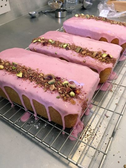 Strawberry loaves