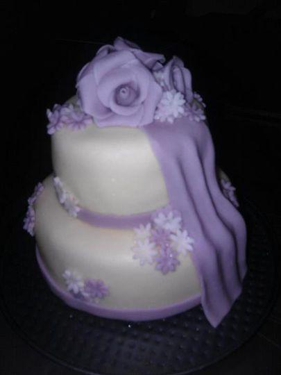 Mini cake - 12cm - 9cm tiers!