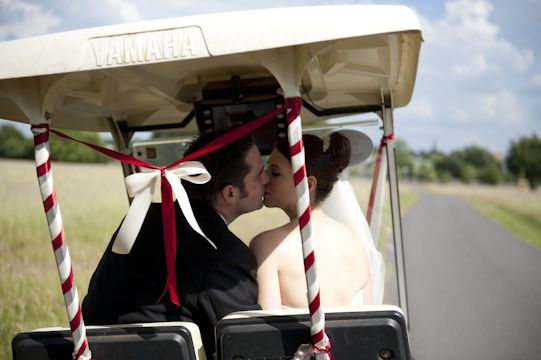 Golf Buggy Photo opportunity