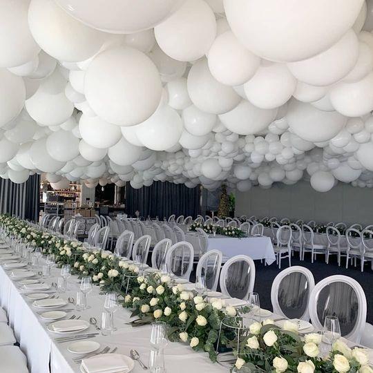 Balloon Cloud Ceiling