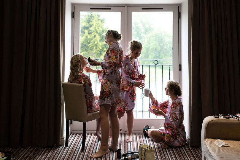Getting ready - Claire Wakefield Photography
