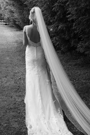 The bride - Claire Wakefield Photography