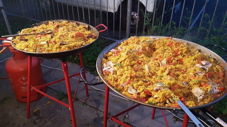 Seafood And Vegetarian Paellas