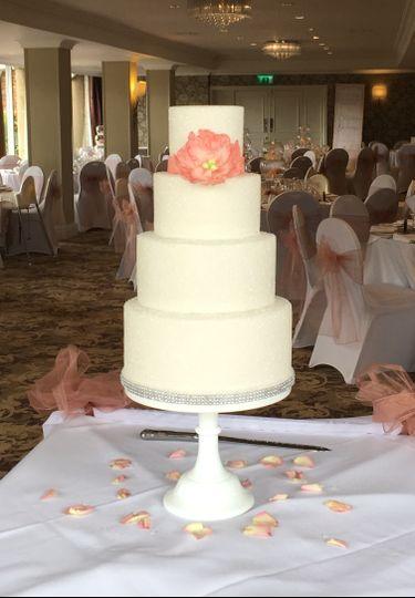 Sparkle sugar cake