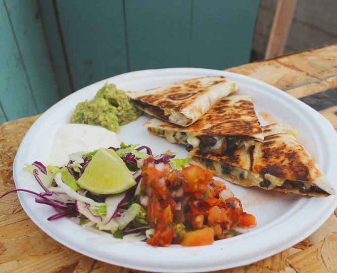Quesadillas with fresh Sides
