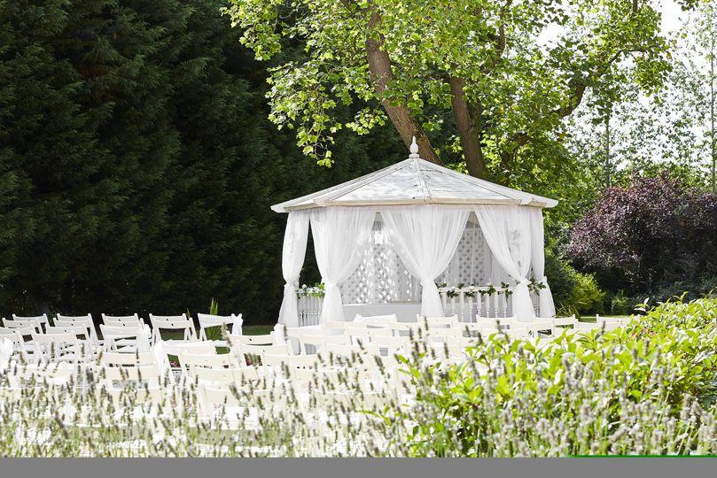 Wedding pergola