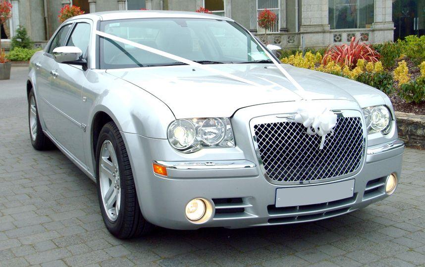 Chrysler 300c wedding car hire
