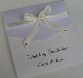 Pearl Pocket Invitation
