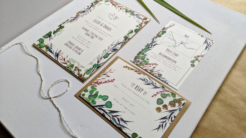 Stationery Labelled With Love 10