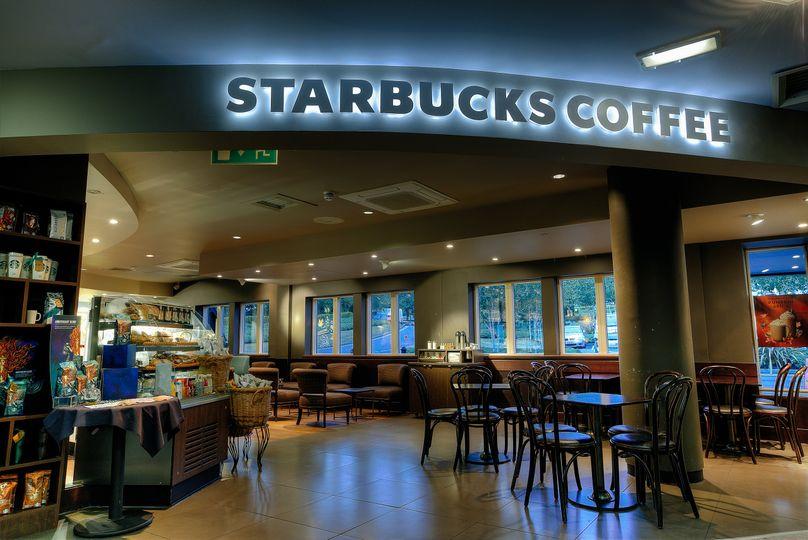 Starbucks on site