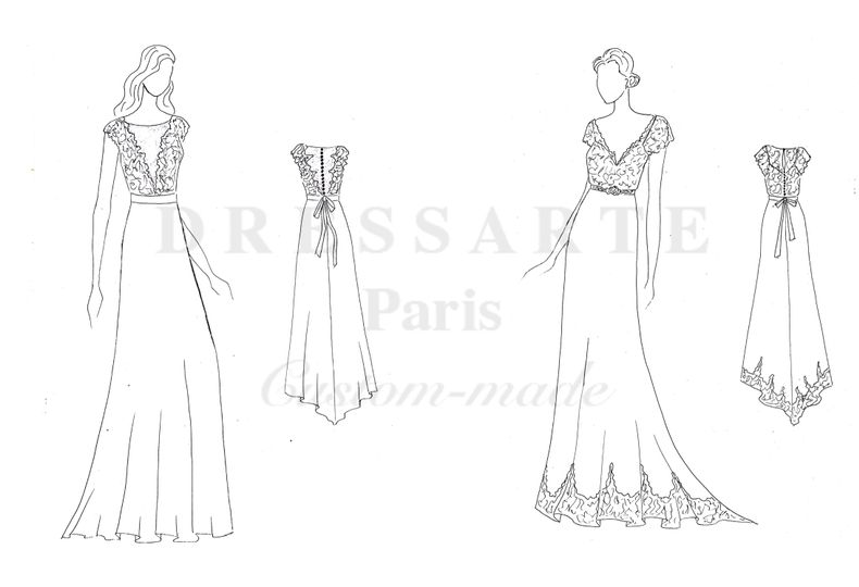 Bridalwear Shop Dressarte Paris 17