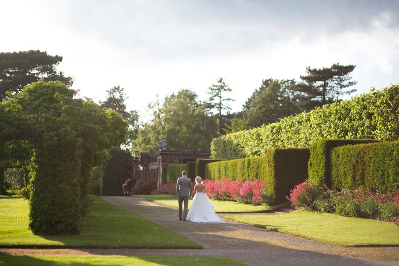 Manor House Surrounding Grounds - Photographed by Lesley Meredith Photography