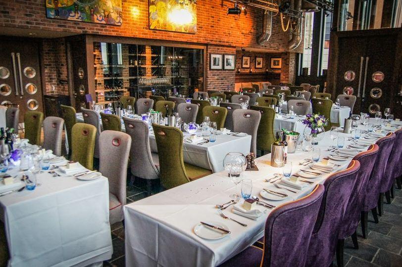Wedding in Brasserie