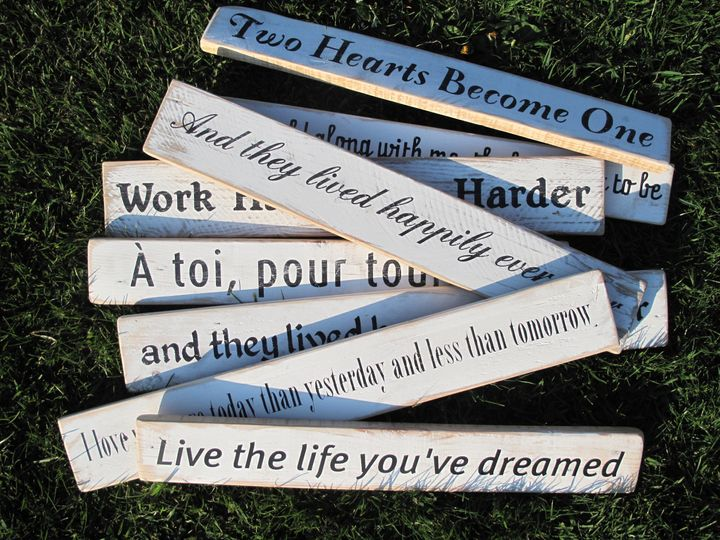Something Different Sentiment Signs 2