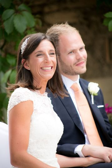 Vanessa, wedding in France