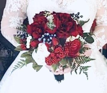 All silk bouquets