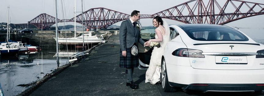 Tesla Wedding Cars Scotland