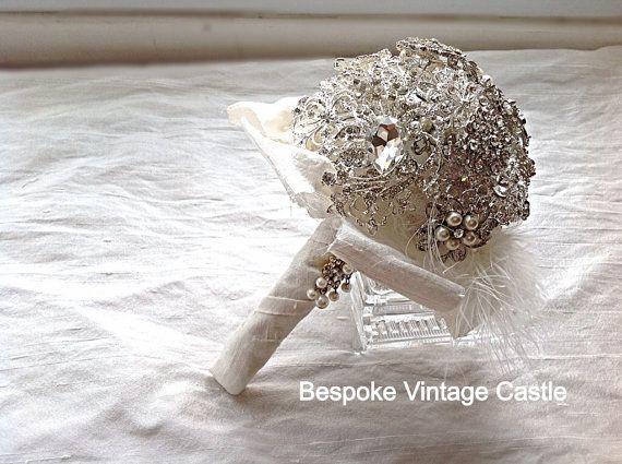 Stunning brooch bouquets