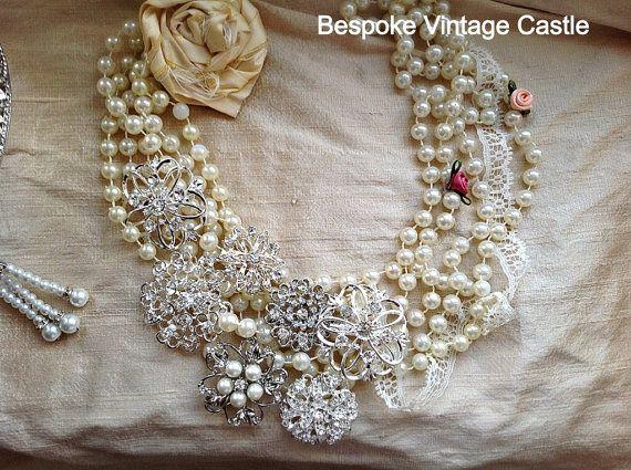 Stunning bridal jewellery