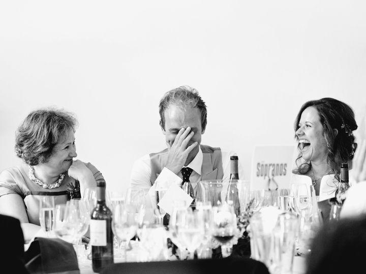 Wedding speech moment