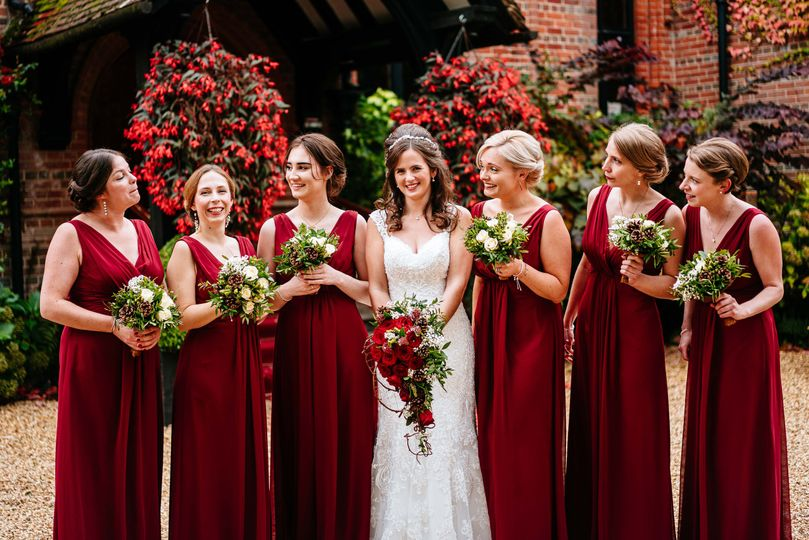 Styling the whole bridal party