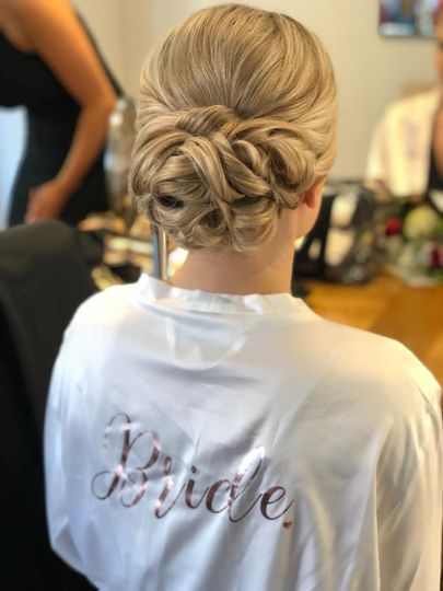Intricate Bridal Hairstyle