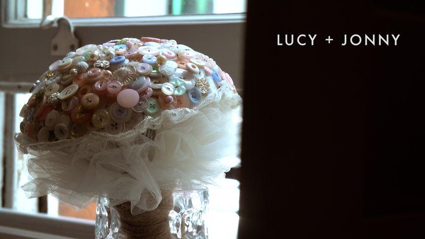 Unique bridal bouquet!