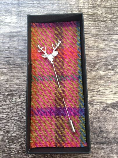 Stag Tie Pin