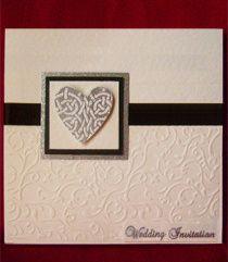 Celtic Heart Invitation