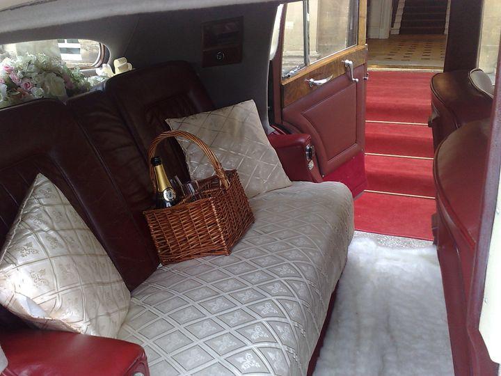 1950 Bentley Mk6 Inside
