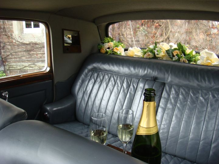 1950 Rolls Royce Inside