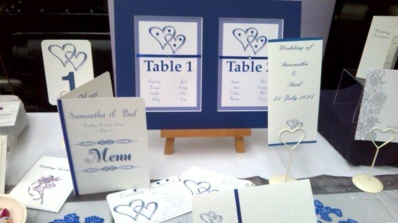 Table plan sample