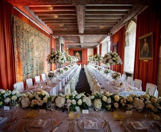 Henry VIII Banqueting Hall, Leeds Castle