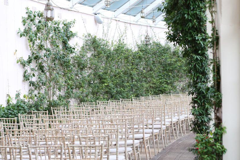 Winding ceremony layout
