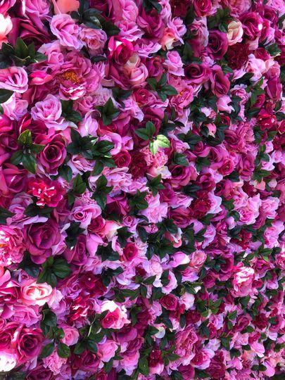 Flower wall details