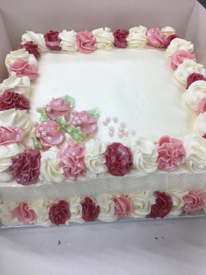 Cake for guests