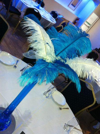 Flamingo centre piece