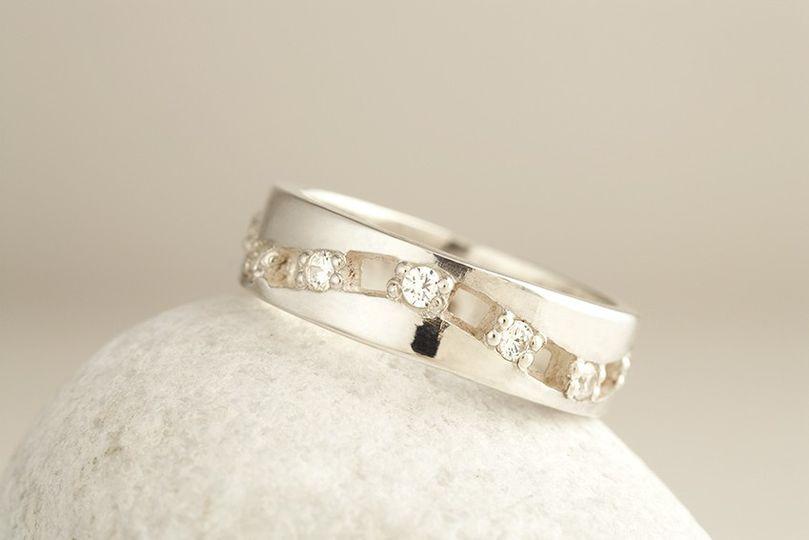 white gold diamond wedding ring 1