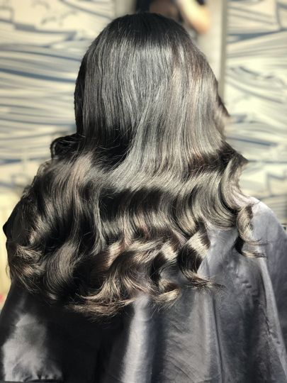 Vintage-glam waves