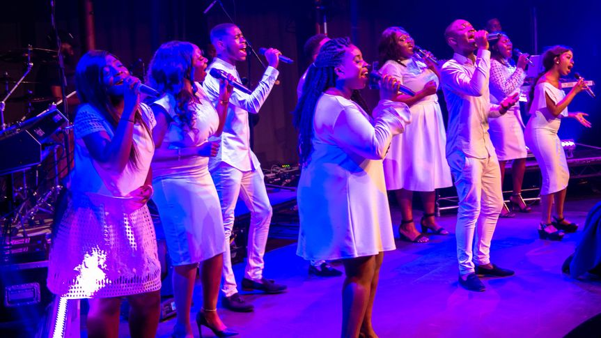 Music and DJs Keynotes Gospel Choir 6